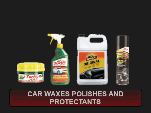 Car Waxes Polishes and Protectants