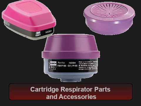Cartridge Respirator Parts and Accessories