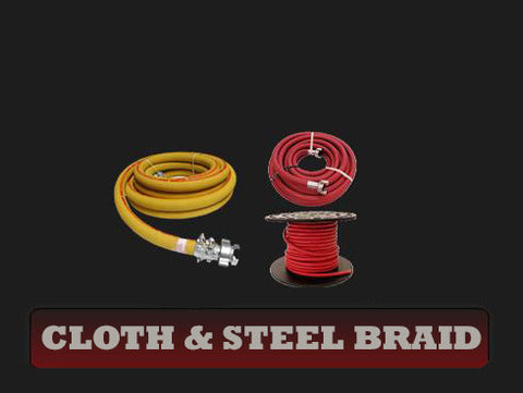 Cloth & Steel Braid Hose