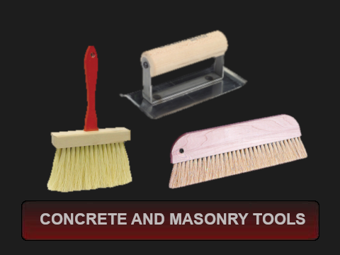 Concrete and Masonry Tools