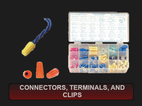 Connectors, Terminals and Clips