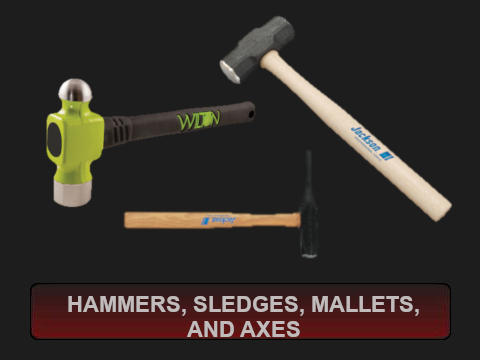 Hammers Sledges Mallets and Axes