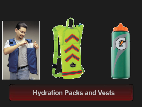 Hydration Packs and Vests