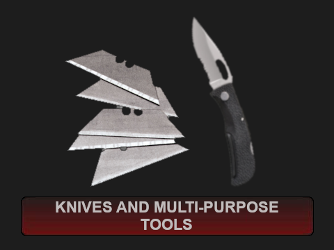 Knives and Multi-Purpose Tools
