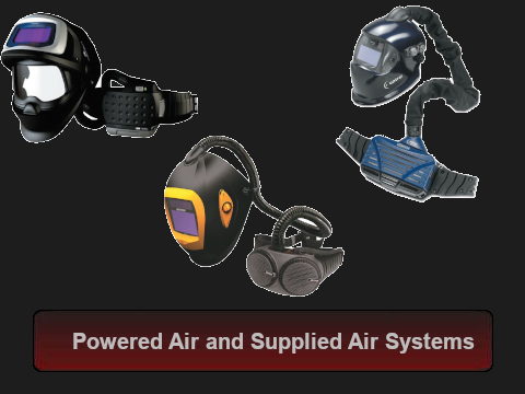 Powered Air and Supplied Air System Parts and Accessories