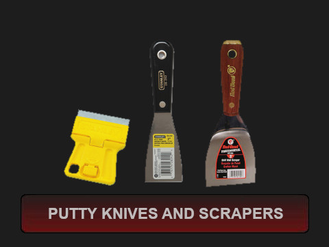 Putty Knives and Scrapers