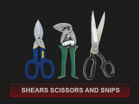Shears Scissors and Snips