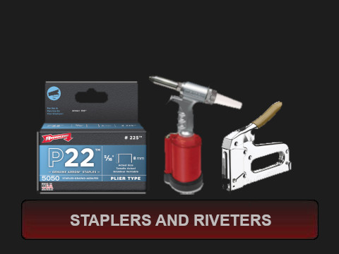 Staplers and Riveters