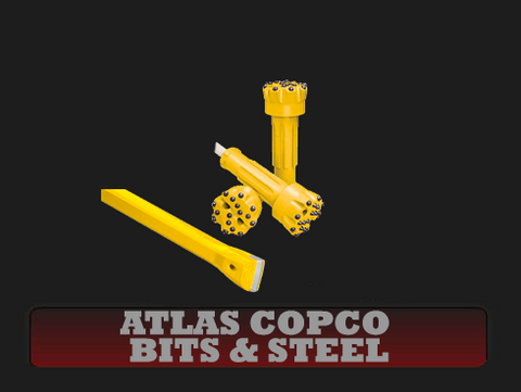 Atlas Copco Bits & Steel