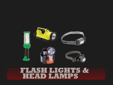 Flash Lights & Head Lamps