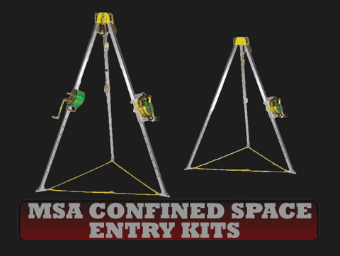 MSA Confined Space Entry Kits
