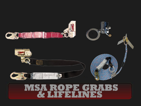 MSA Rope Grabs & Lifelines