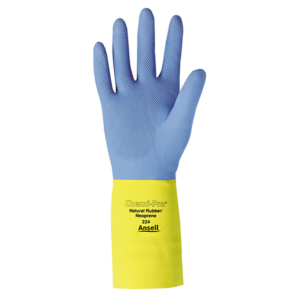 Ansell Chemi-Pro Unsupported Neoprene Gloves - AMMC