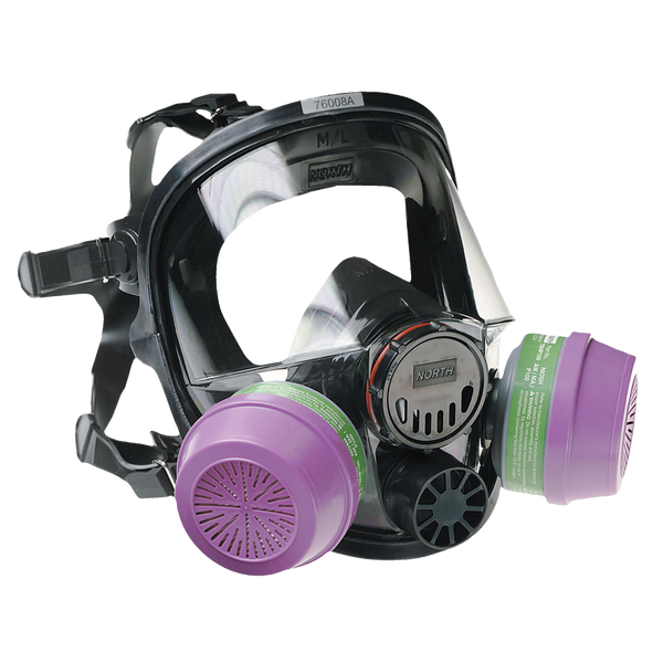 North By Honeywell 7600 Series Silicone Full Face-piece Respirators - AMMC