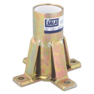 Capital Safety Advanced Floor Mount Sleeve Davit Bases, Davit Base, 12.9lb, 70007495230