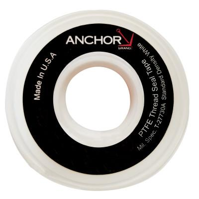 Anchor Products White Thread Sealant Tapes, 1/2in. x 600 in., White, 1/2X600ST-PTFE