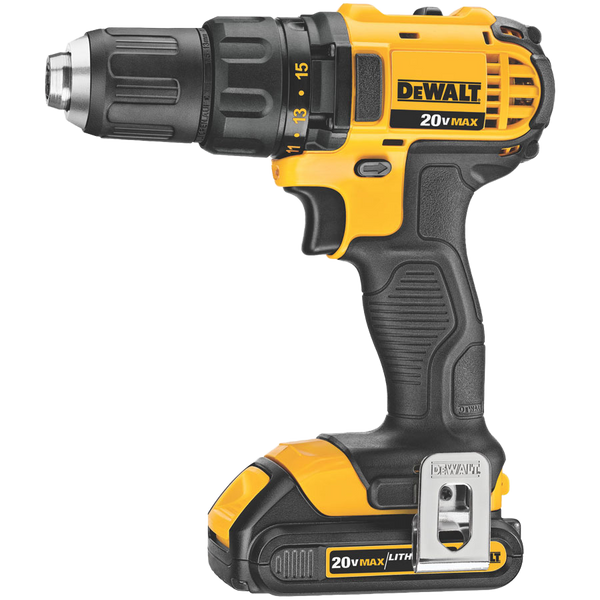 Dewalt 20V MAX* LITHIUM ION COMPACT DRILL / DRIVER KIT - AMMC