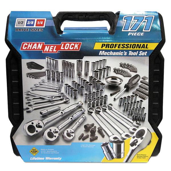 Channellock 171 Piece Mechanic's Tool Set - AMMC