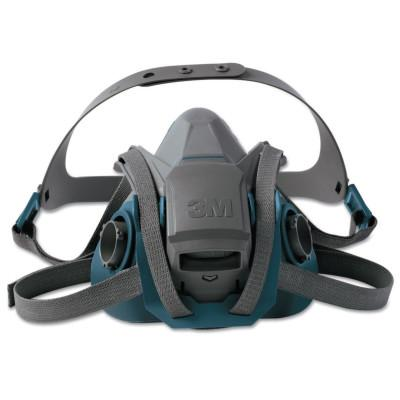 3M Rugged Comfort Quic-Latch Half-Facepiece Reusable Respirators, Large, 7000128241
