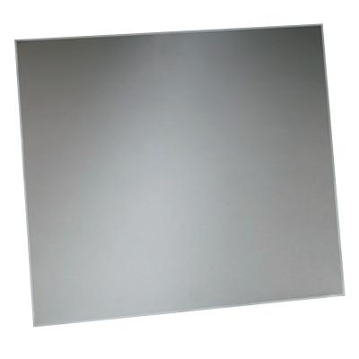 3M Safety Plate, 4 1/2 in x 5 1/4 in, Polycarbonate, Clear, 7000126305