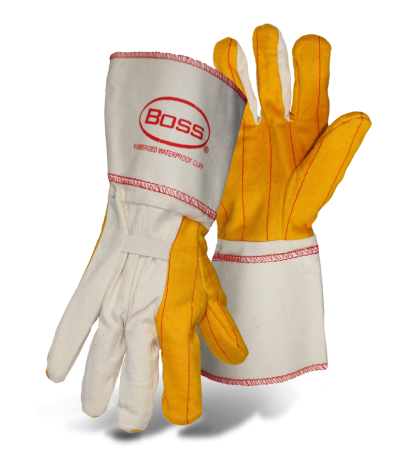 Boss 1BC28572 2-Ply Rubberized Gauntlet Chore Glove - AMMC
