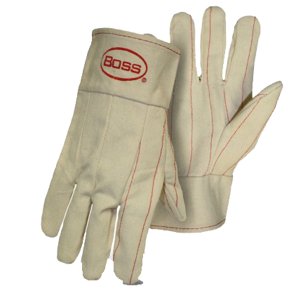 Boss 1BC42200 2-Ply Hot Mill Nap-In Gloves - AMMC