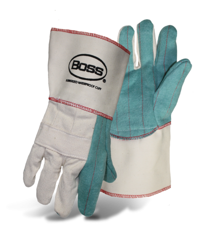 Boss 1BC43741F 2-Ply Hot Mill Nap-Out Gloves - AMMC