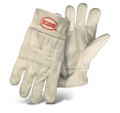 Boss 1BC49122 3-Ply Hot Mill Nap-Out Glove w/ Rayon Lining - AMMC