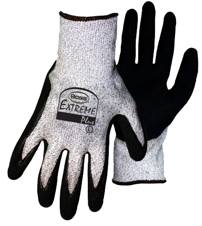 Boss 1CF7004 Extreme Plus Nitrile Palm Cut Resistant Gloves - AMMC