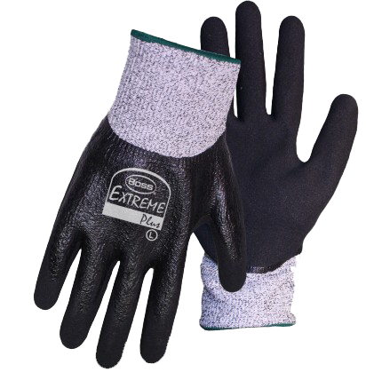 Boss 1CF7005 Extreme Plus Nitrile Full Dip Cut Resistant Gloves - AMMC
