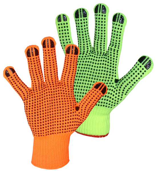 Boss 1JP9522N String Knit Hi-Vis w/ Dots - AMMC - 1
