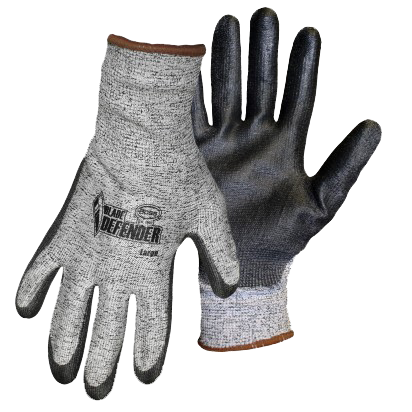 Boss 1PU4000 Blade Defender Coated Palm Cut Resistant Gloves - AMMC