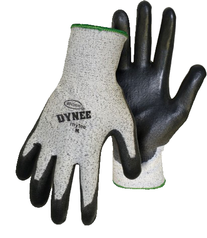 Boss 1PU6000 Dynee Mytee Coated Palm Cut Resistant Gloves - AMMC