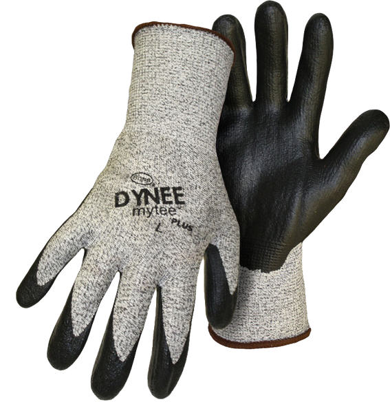 Boss 1UHD400 Dynee Mytee Plus Foam Nitrile Palm with Color Coded Hem - AMMC