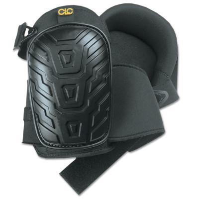 CLC Custom Leather Craft Professional Tread-Pattern Kneepads, Slide Buckle, Black, 345