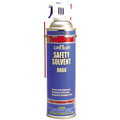 Aervoe Industries Safety Solvent (NF), 20 oz Aerosol Can, 8060