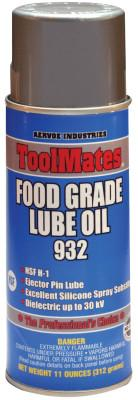 Aervoe Industries Food Grade Lube Oils, 16 oz, Aerosol Can, 932