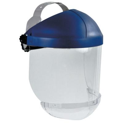 3M Ratchet Headgear, Head and Face Protection, with Clear Chin Protector, 7000002293
