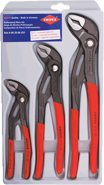Knipex Cobra Pliers - 3pc Set - AMMC