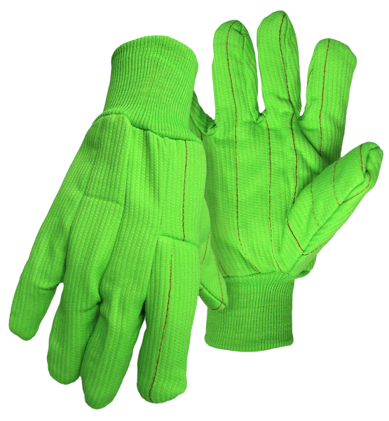 Boss 30PCN Bedford Cord 2-Ply Poly/Cotton High-Vis w/ Knit Wrist - AMMC - 3
