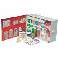 North by Honeywell 34140LFP 2 Shelf Industrial First Aid Station - AMMC