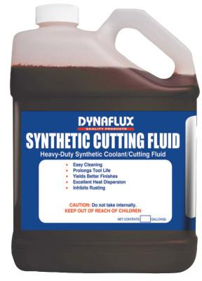 Dynaflux All Metal Synthetic Cutting Fluids, 1 gal, Pour Bottle, 372-4X1