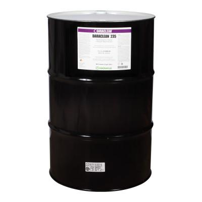 MAGNAFLUX Daraclean 235 Neutral Aqueous Cleaners, 55 gal, Drum, 01-6050-45