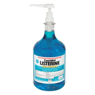 JOHNSON & JOHNSON Listerine Cool Mint Mouthwash, 1 Gallon Pump, 1524275000