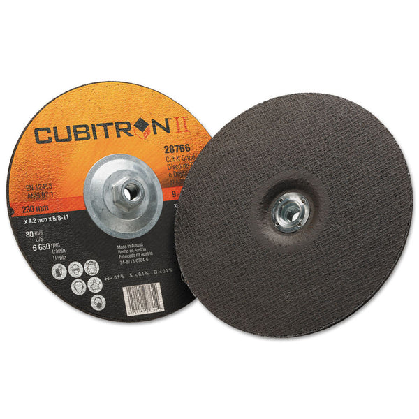 3M Cubitron II Cut & Grind Wheels (Box of 10) - AMMC