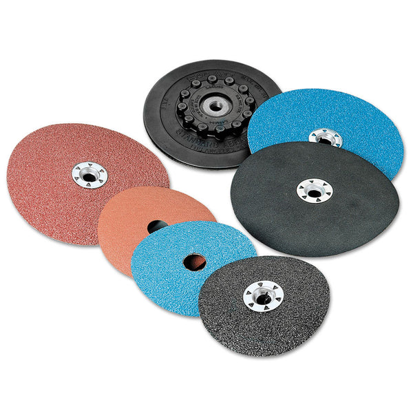 "3M Standard Abrasives 4-1/2"" Ceramic Resin Fiber Disc - AMMC"