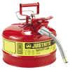 Justrite Type II AccuFlow Steel Safety Can for flammables - AMMC - 3