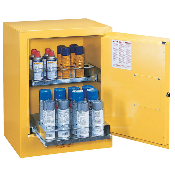 Justrite Sure-Grip EX Aerosal Can Safety Cabinet - AMMC