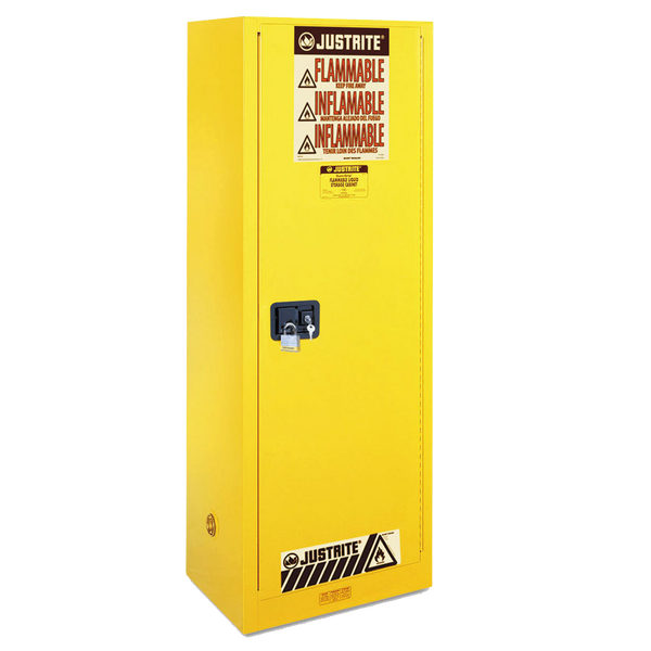 Justrite Sure-Grip EX Slimline Flammable Safety Cabinet - AMMC
