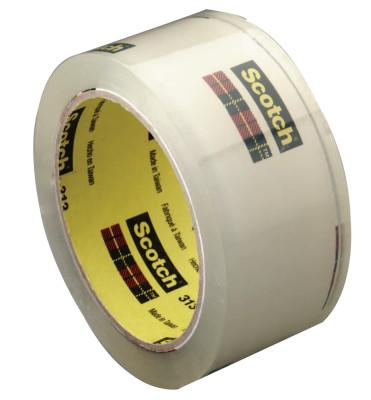 3M 3M Industrial 021200-42370 Scotch High Performance Box Sealing Tapes 313, 021200-42370